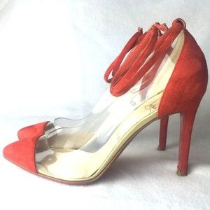 FIRM PRICE!! Louboutin Un Bout Pumps Heels Euro 36
